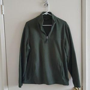 Club Room Fleece Quarter-Zip Sweater